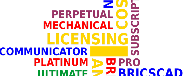 Choosing BricsCAD licenses