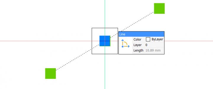 Selecteren aperture pickbox grips distance